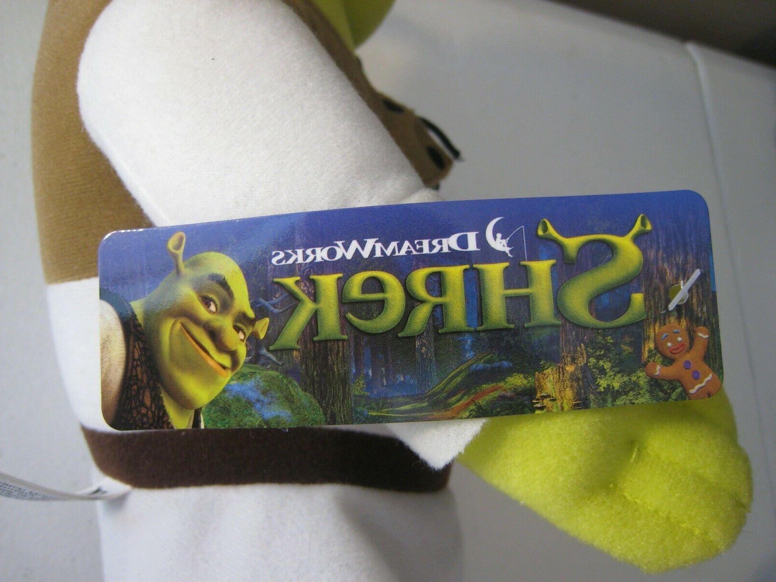 "SHREK the Ogre Doll 14"" Toy Factory NWT 2017"