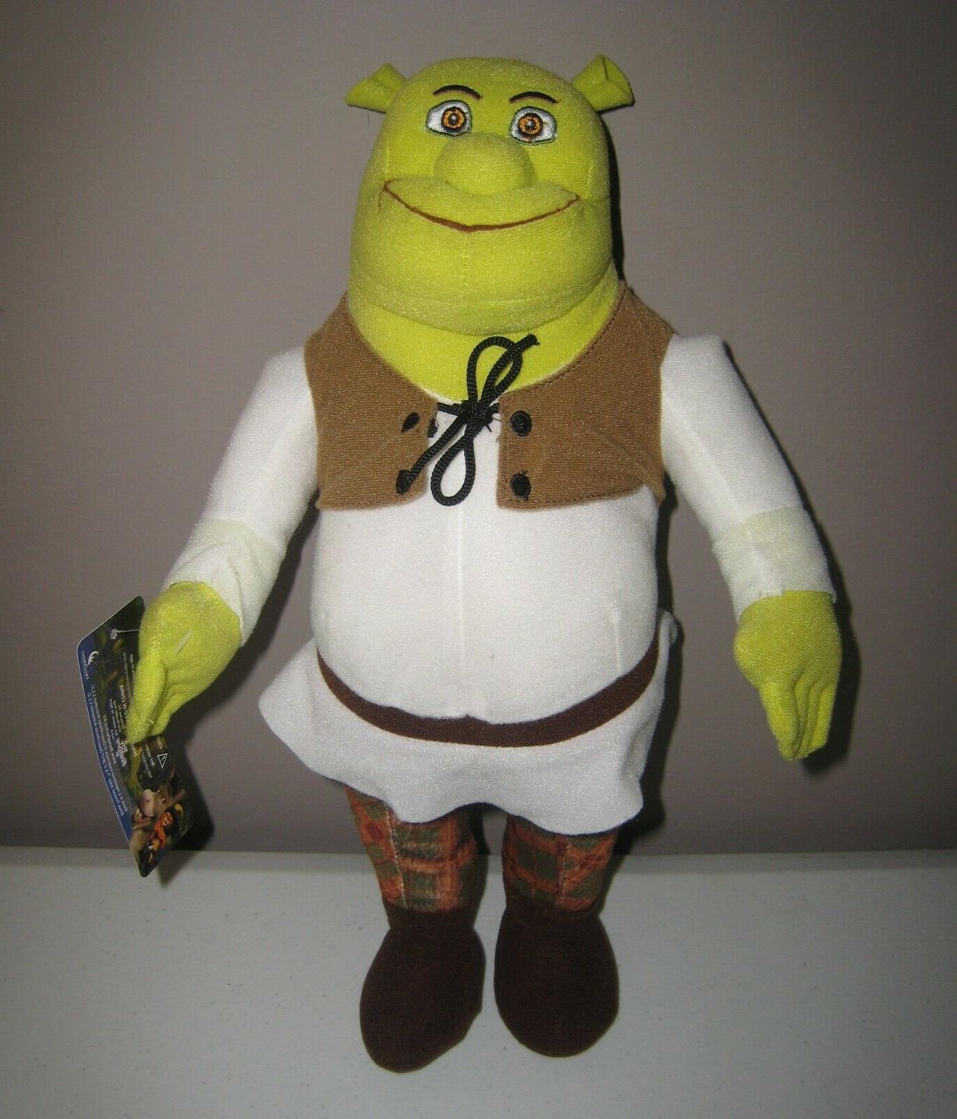shrek the ogre plush doll 14 dreamworks