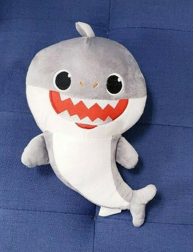 Baby shark toy shark song LED light