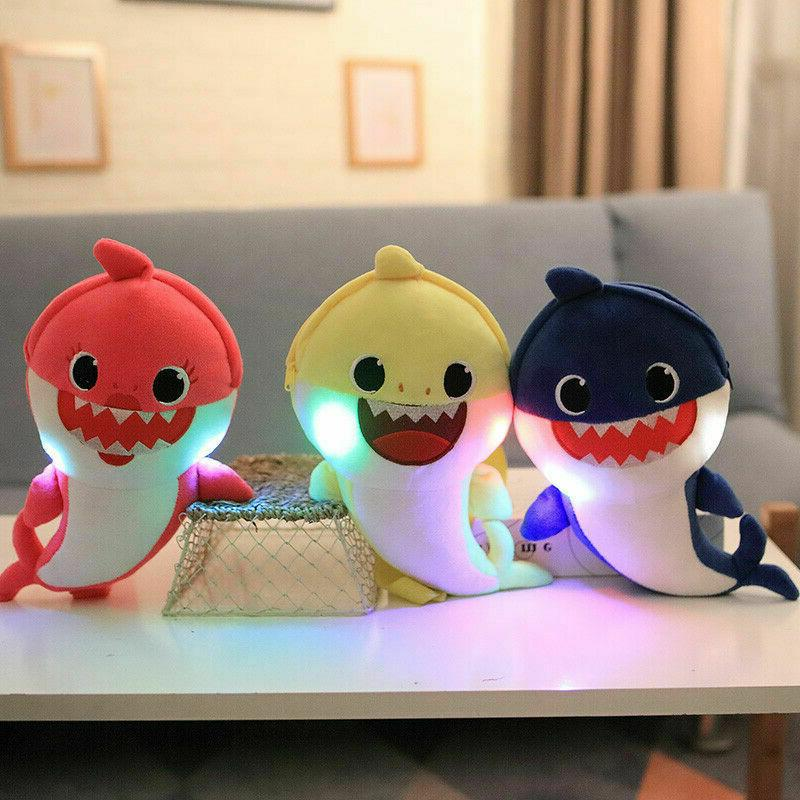 Baby toy animal baby shark light