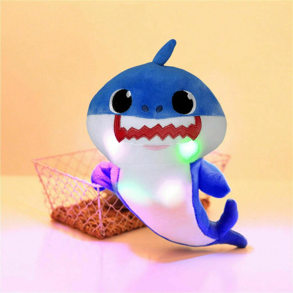 Baby singing toy with shark light