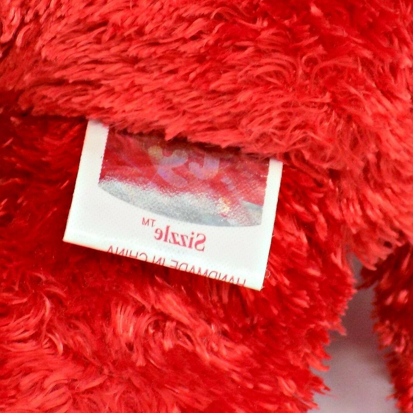 Ty Bear Beanie Baby Stuffed Animal Toy MWMT
