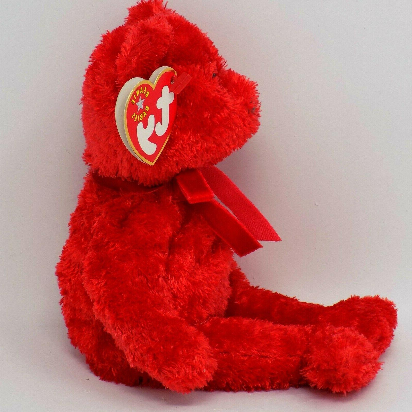 Ty Bear Beanie Stuffed MWMT