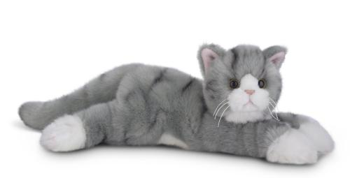 socks stuffed animal toy grey