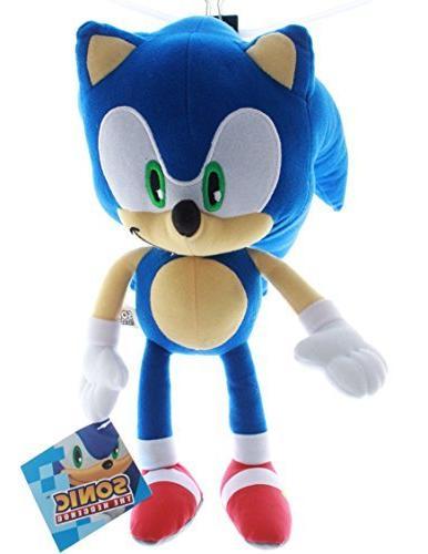 sonic hedgehog plush toy