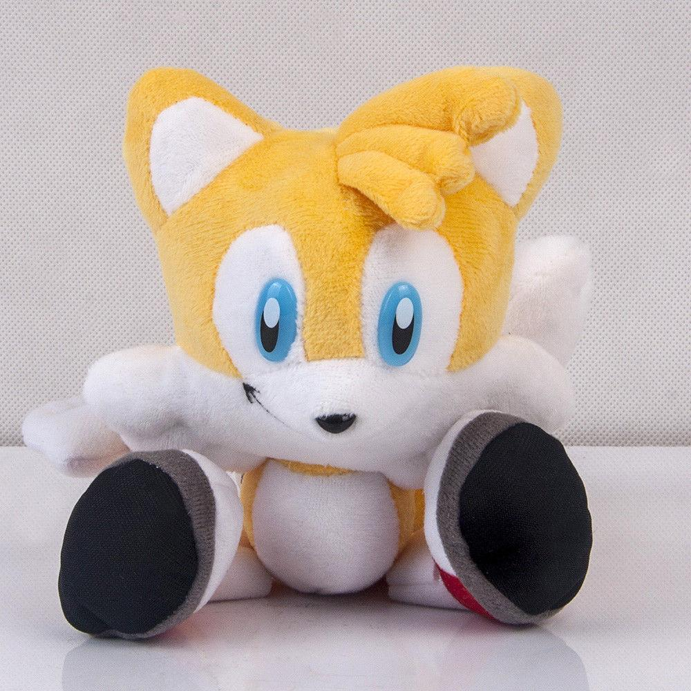 Sonic Yellow Plush Stuffed Figure Toy inch Gift