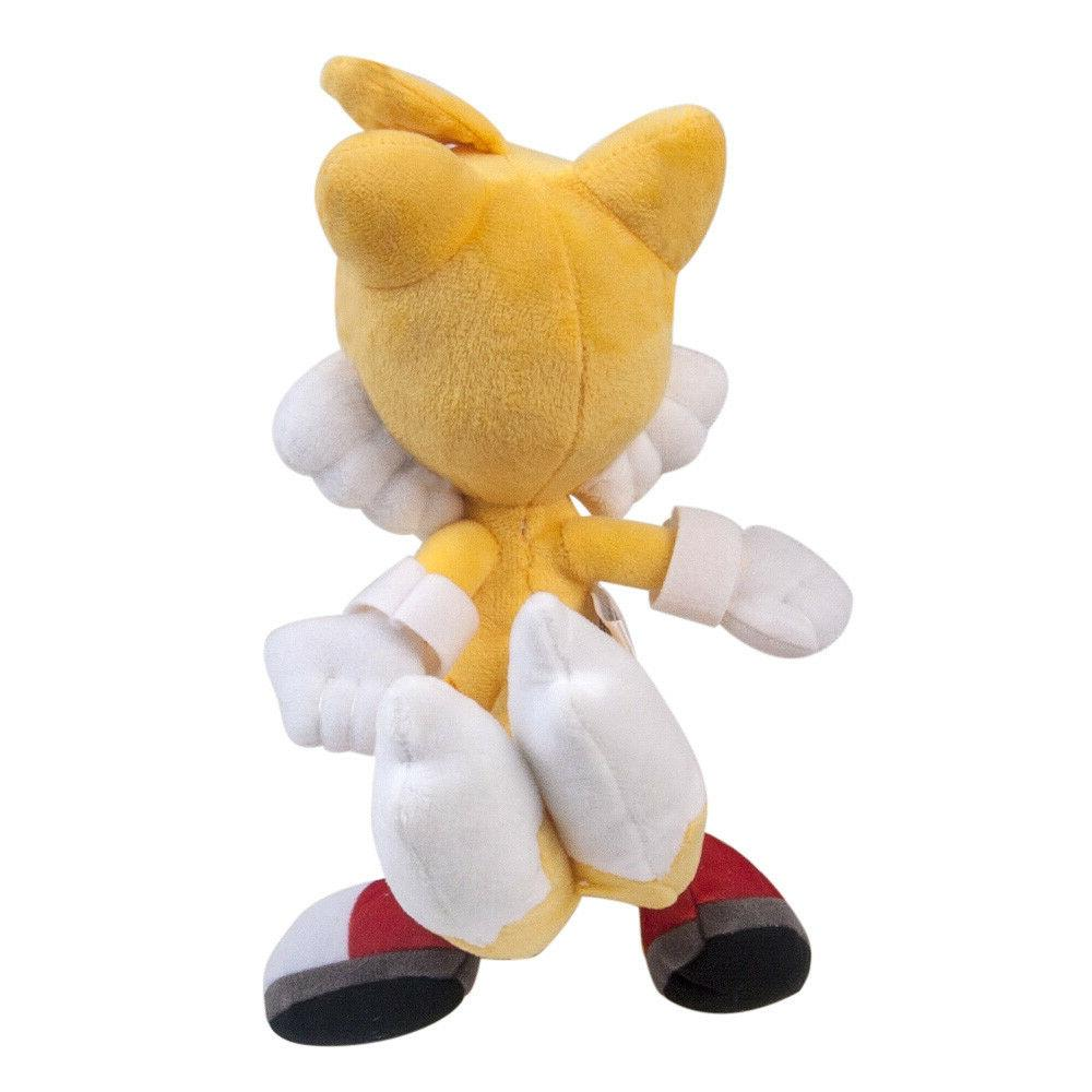 Sonic The Tails Yellow Plush Doll Figure Toy inch Gift