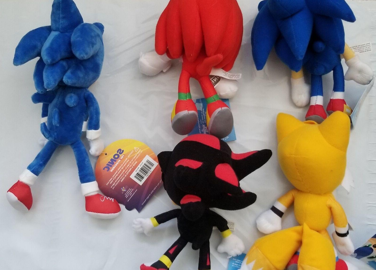 "Sonic Plush Tails 8 12"""
