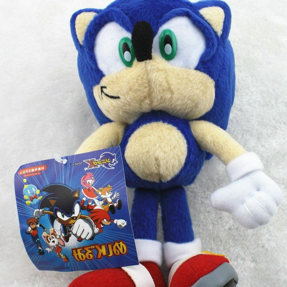 Sonic Blue Figure Toy 8 inch Xmas Gift