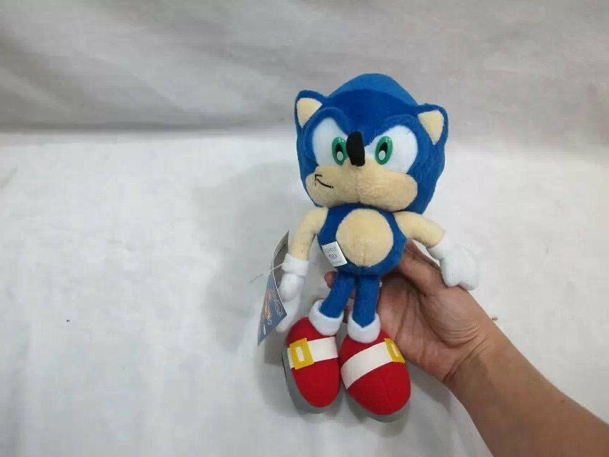 Sonic Tails Plush Doll Stuffed Figure Xmas Gift