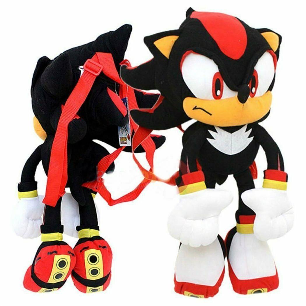 Sonic The Hedgehog Plush Backpack Stuffed Figure Doll