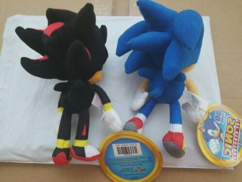 Sonic Plush Sonic and Sega Set Doll