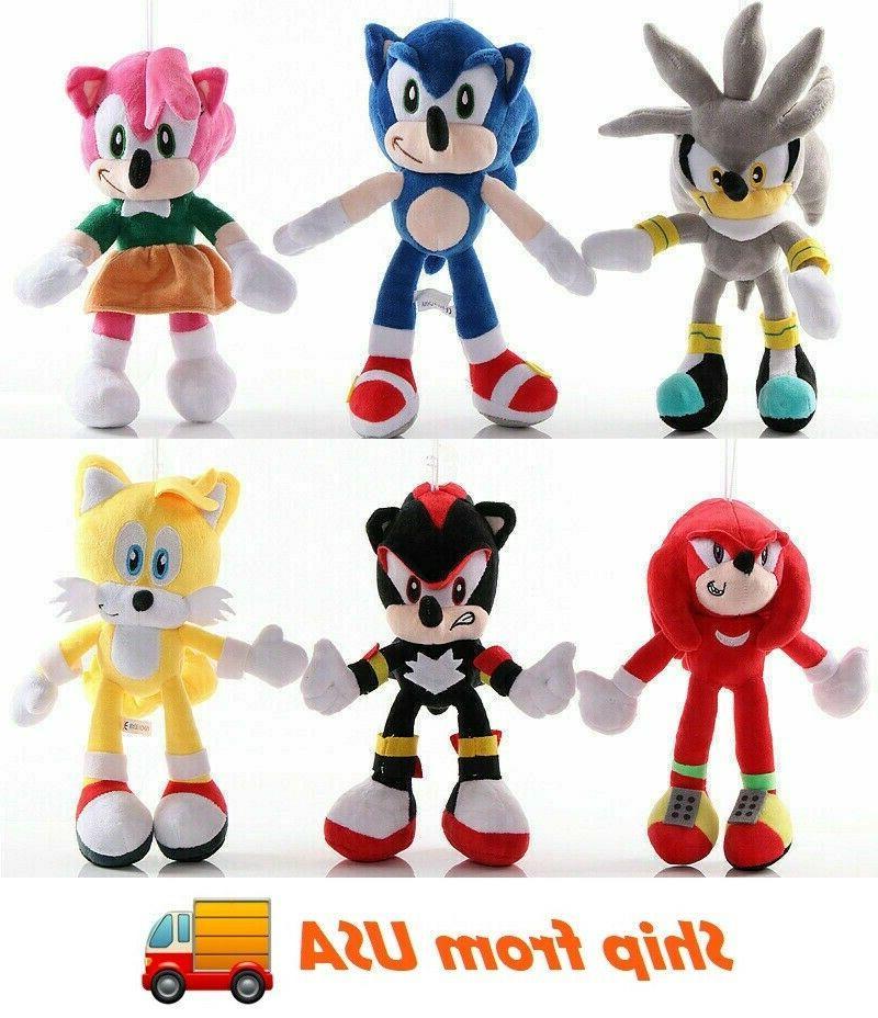 sonic the hedgehog sonic plush toy stuffed