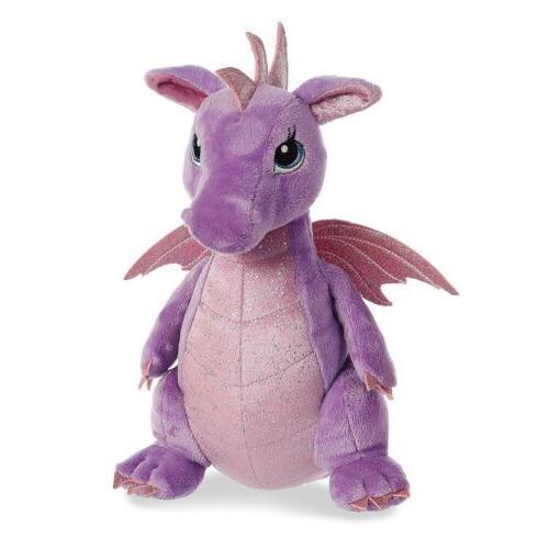 sparkle tales larkspur dragon 12 plush toy