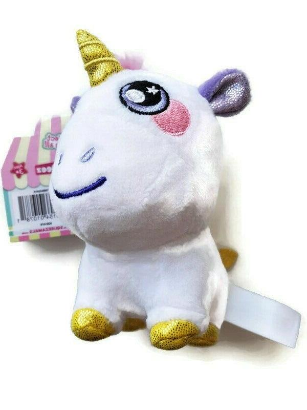 Squeezamals Squeeshy Scented Plush Toys. New