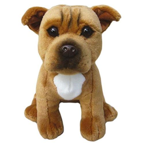staffordshire bull terrier soft toy