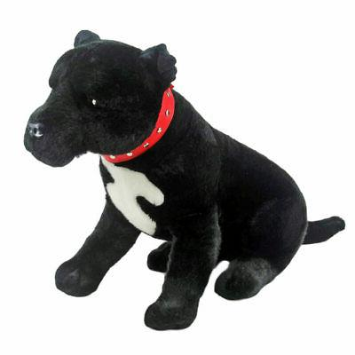 "Staffordshire Bull Terrier Staffy dog soft plush toy DJ 15""/"
