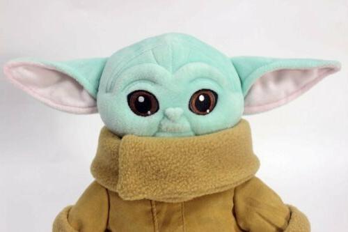 Stars Baby Yoda Stuffed Doll Xmas Gifts