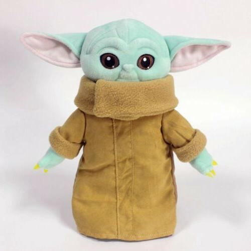 Stars Baby Yoda Stuffed Kids Cute Xmas