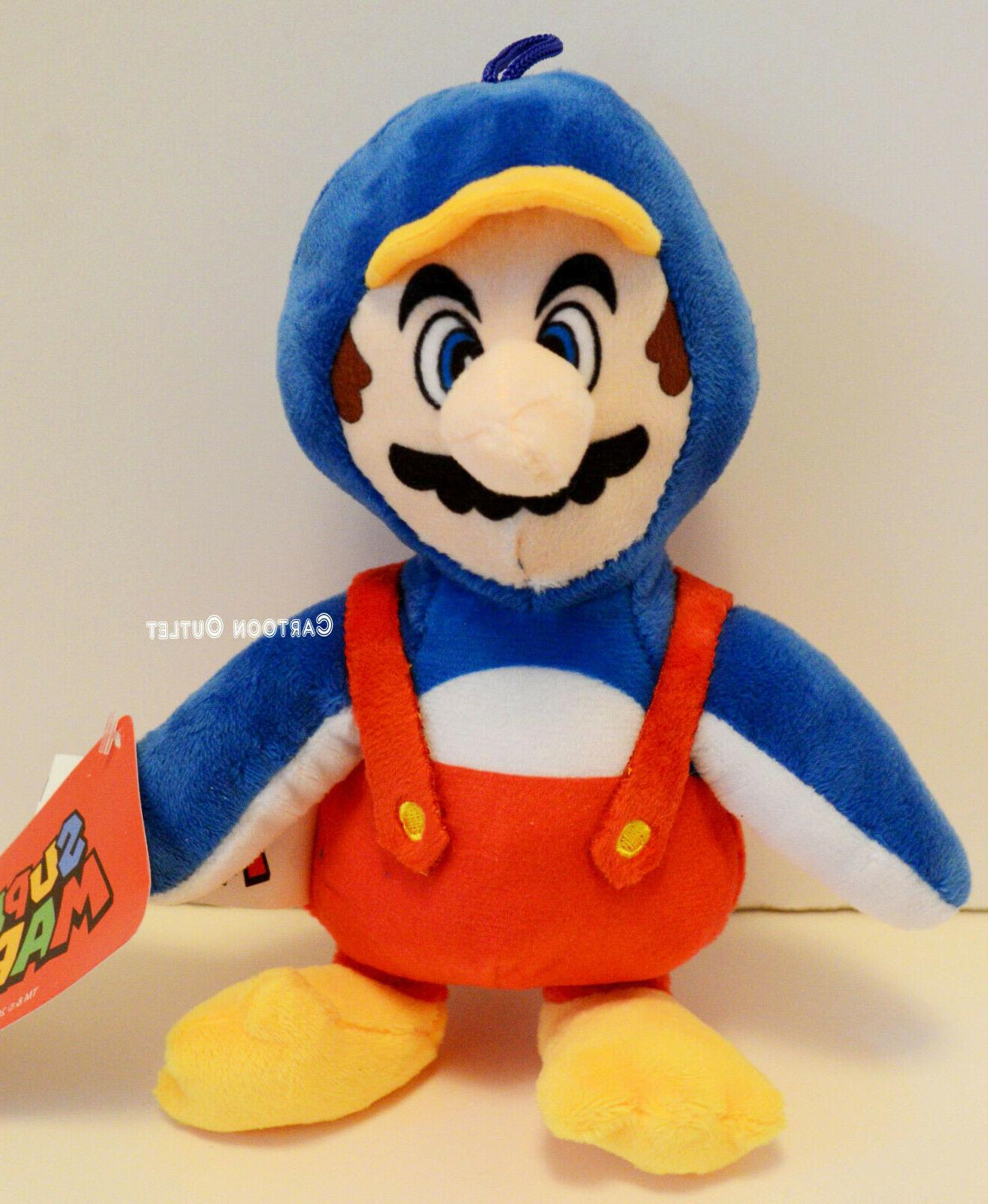 "Nintendo Super Mario 8"" Plush Penguin Stuffed Doll Toy Gift"