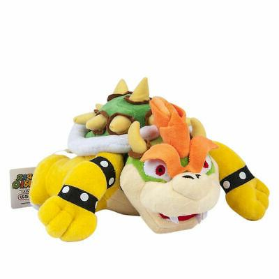 Super Mario Bros King Bowser Koopa Plush Doll Stuffed Toy 10