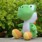 "Super Mario Bros Plush Toy Green Yoshi 7.5"" Lovely Stuffed A"