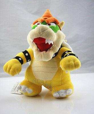 Super Mario 10 inch Standing King Bowser Plush Toy