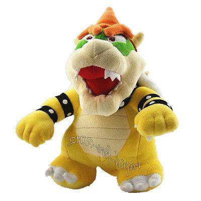 Super Mario Standing King Plush Doll