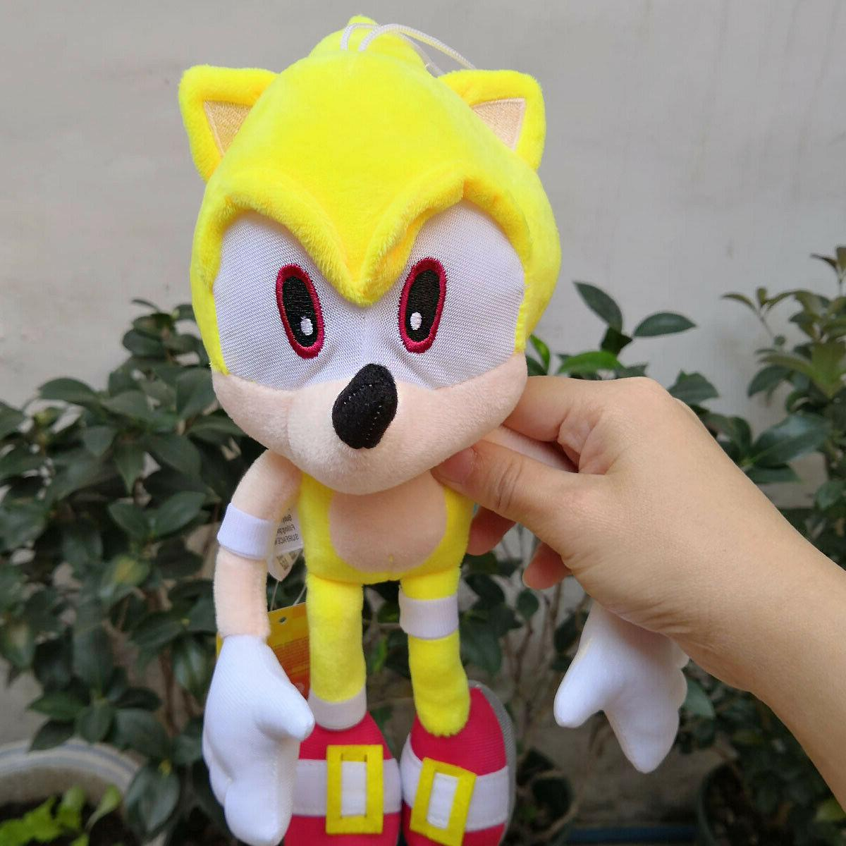 Super Sonic Plush Stuffed Animal Soft Toy In