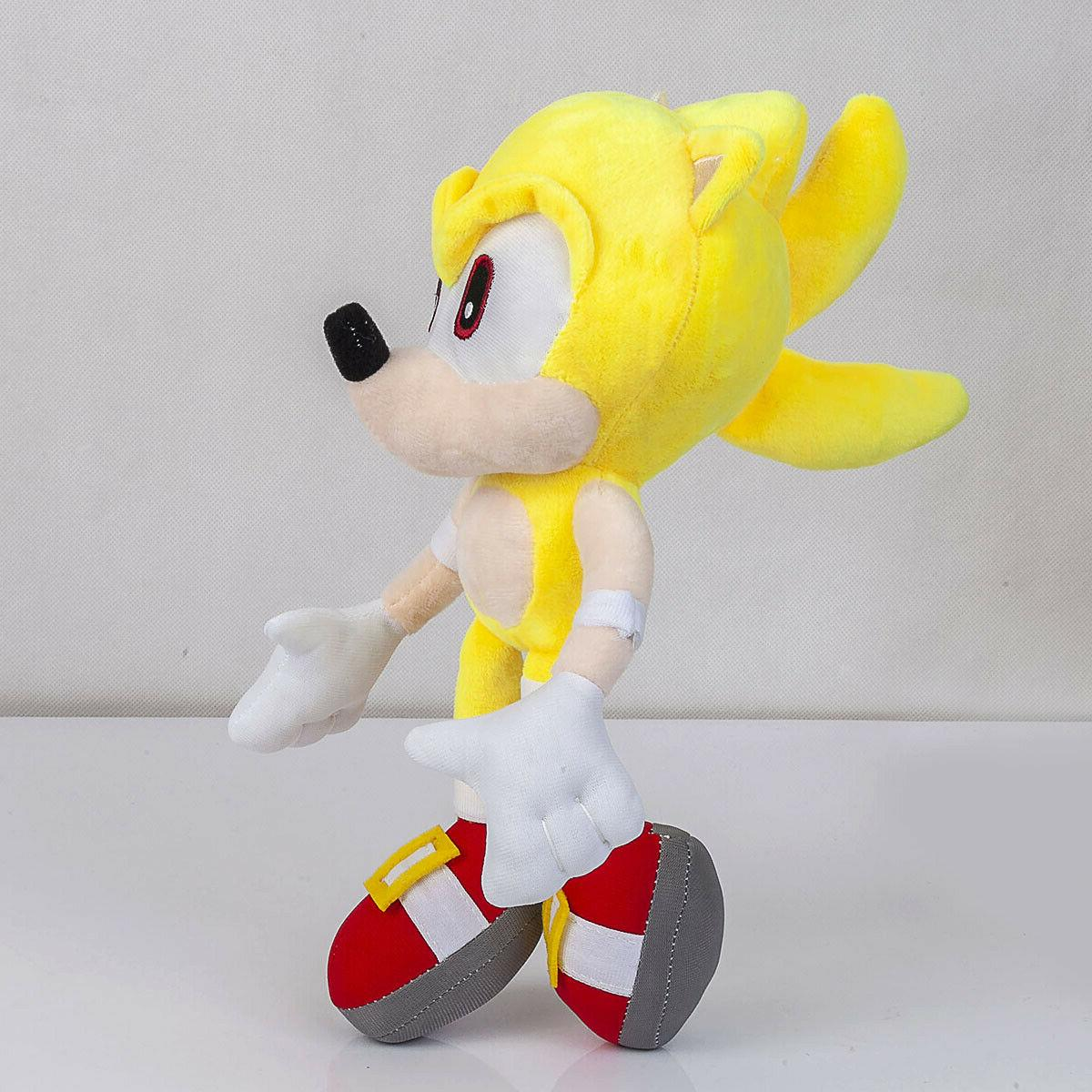 Super Sonic Doll Stuffed Animal Plushie Toy - In
