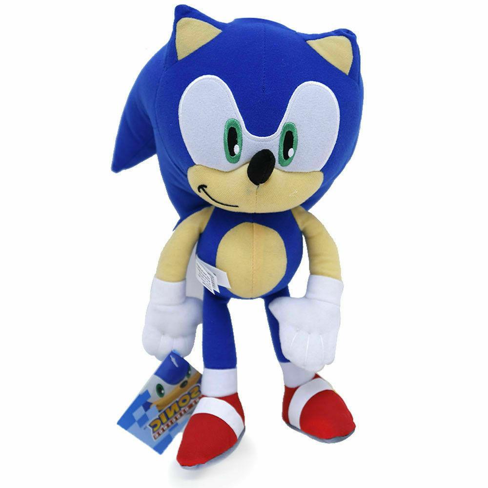 super sonic the hedgehog classic blue stuffed