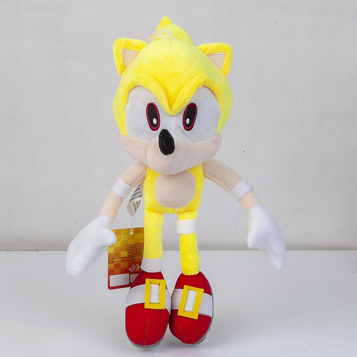 Super The Hedgehog Tails Plush Animal Toy 13 inch Gift