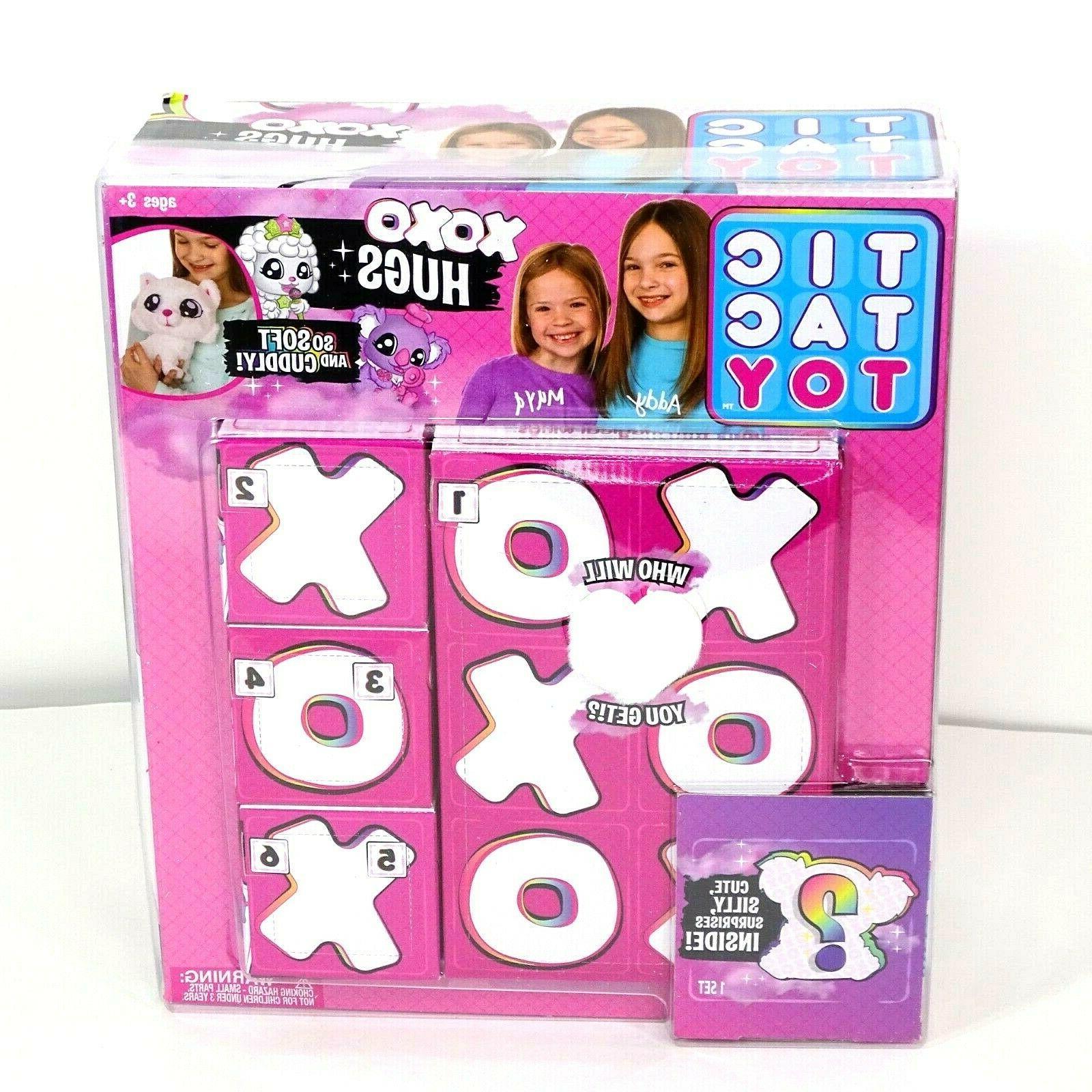 tic tac toy xoxo hugs plush toy