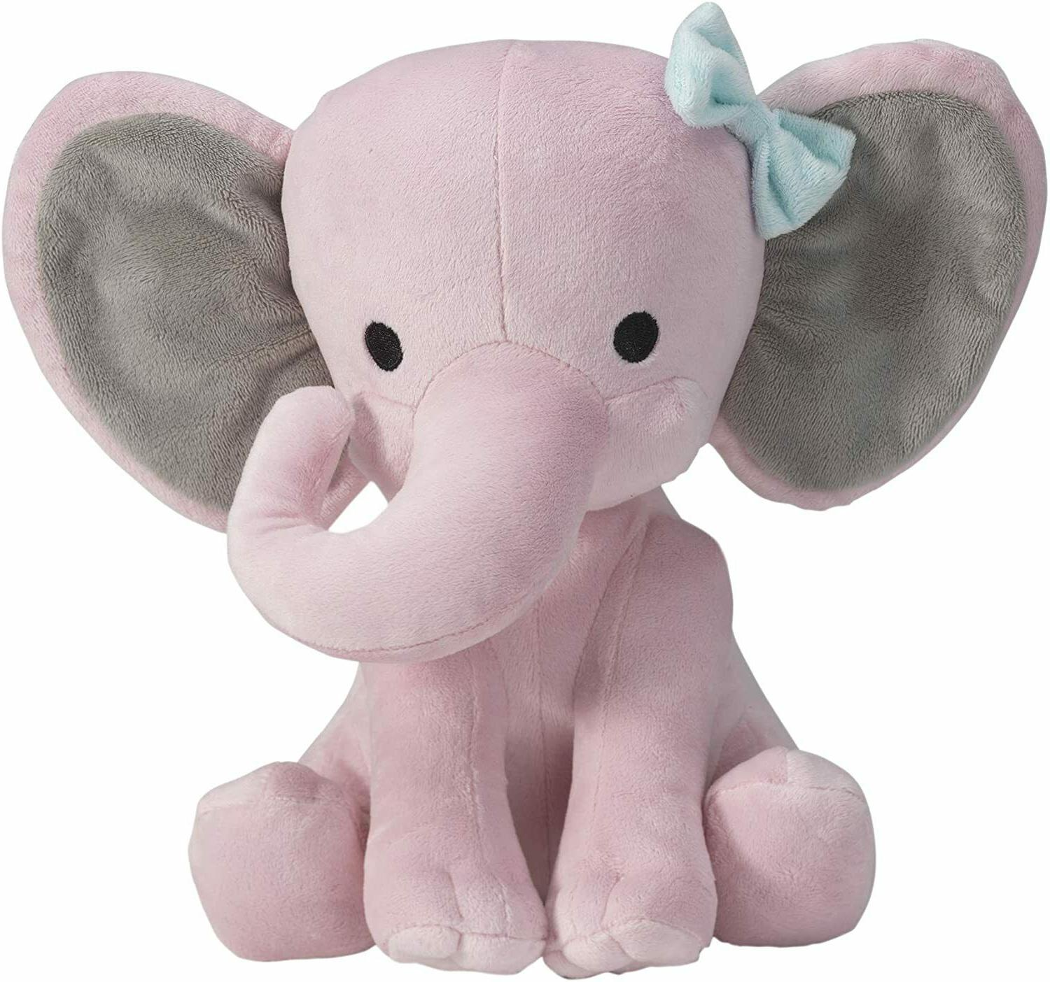 pink stuffed animal plush toy for baby
