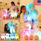 US LED Plus Bear Stuffed Animals Plush Toy Colorful Glowing
