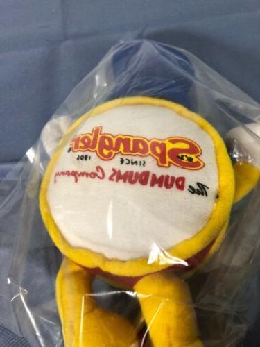 Vintage Dum Dum Man Plush Toy New