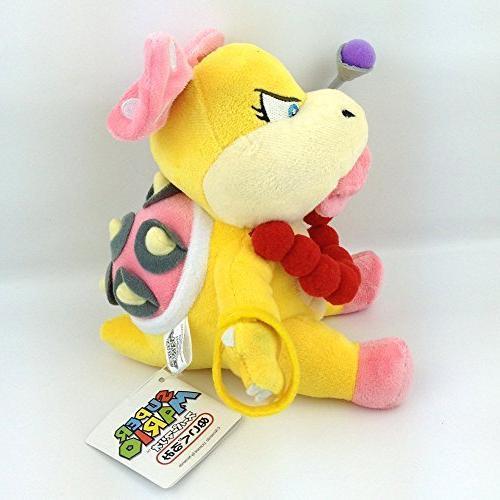 "Generic Wendy Super Bros Character Plush Toy Koopalings Animal Doll 6"""