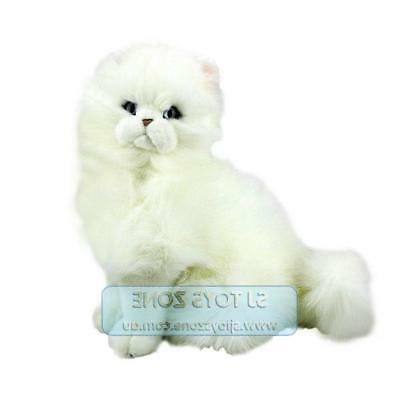 white persian cat 33cm animal stuffed toy