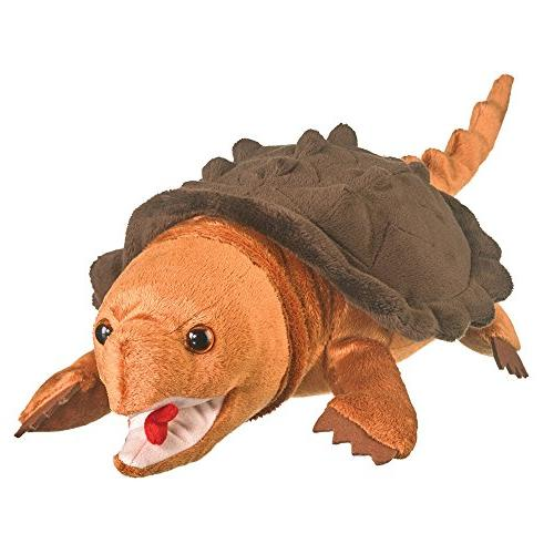 wildlife artists snapping turtle plush toy