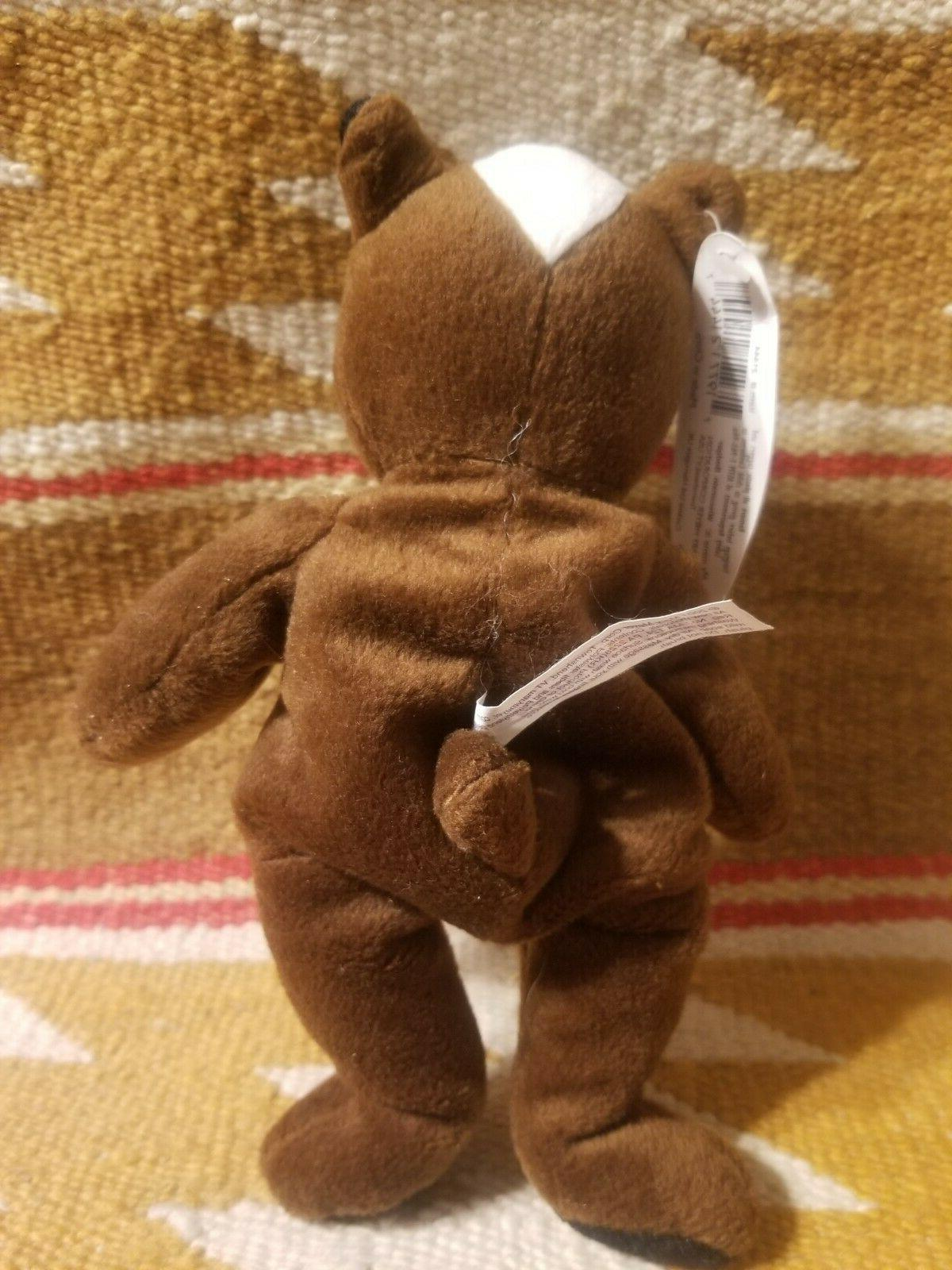 Mary Badger Stuffed Mascot Bag Toy