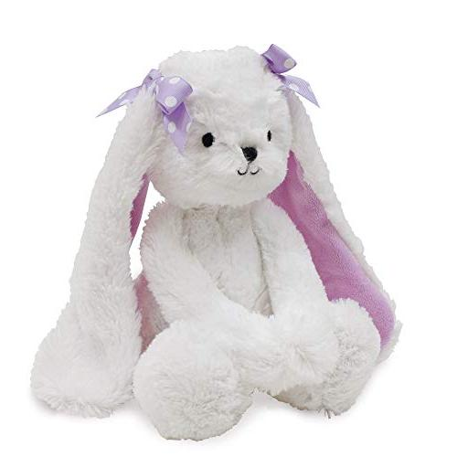 Bedtime Originals Wood Plush Bunny Sasha, Lavender