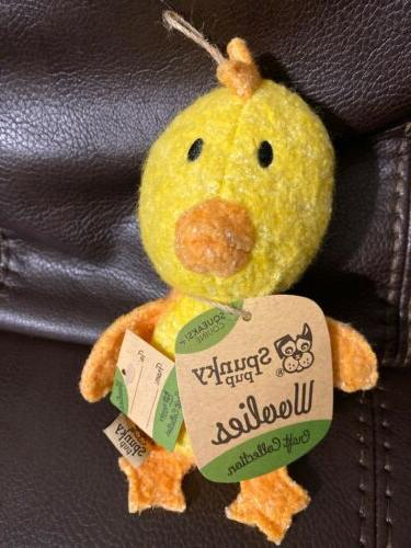 woolies craft collection chicken squeaky dog toy