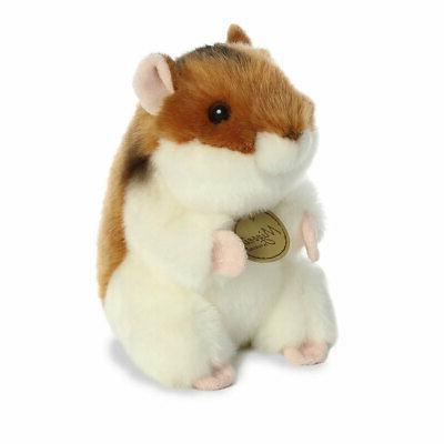 world plush miyoni hamster small 6 inch
