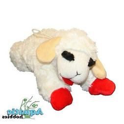 Multipet Lamb Chop Plush & Squeak Toy for Dogs & Puppies CHO