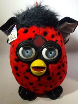 "Large Furby Plush Stuffed Toy Big Eyes Jumbo 16"" Nanco Black"