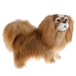 Large Lifelike Animated Stuffed Dog Puppy Plush Toy Kid Xmas