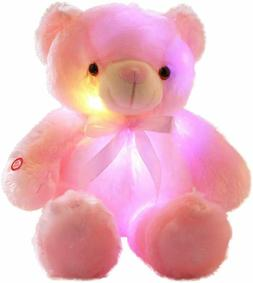 LED Teddy Bears Stuffed Animals, Cute Glow Bear Plush Toys C