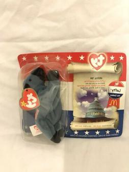 Lefty the Donkey Beanie Babies plush toy new 2000 McDonalds