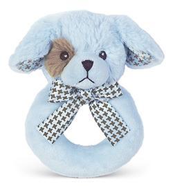 Bearington Baby Lil' Waggles Plush Stuffed Animal Blue Puppy