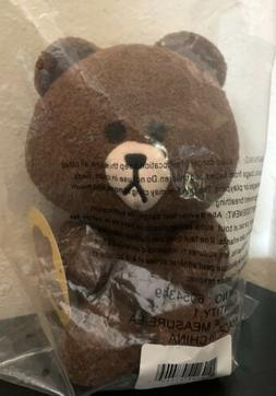 GUND Line Friends 7in Brown Bear Seated Plush Toy Stuffed An